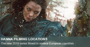 Where is Hanna filmed