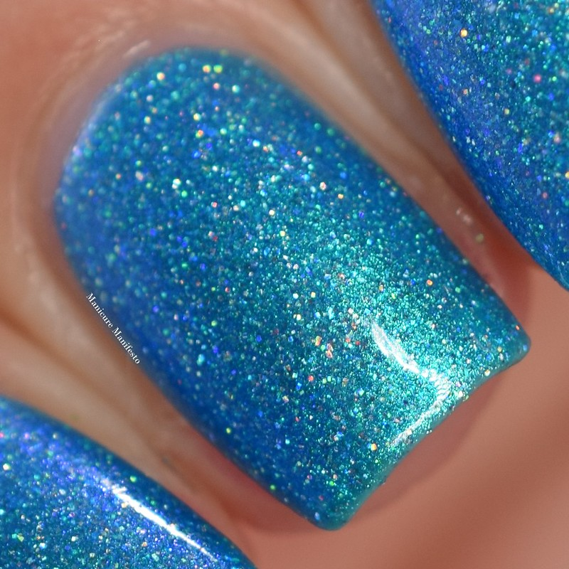 Girly Bits Cyantifically Proven swatch