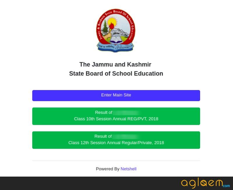 JKBOSE 10th Result 2019 Jammu Annual Regular Summer Zone