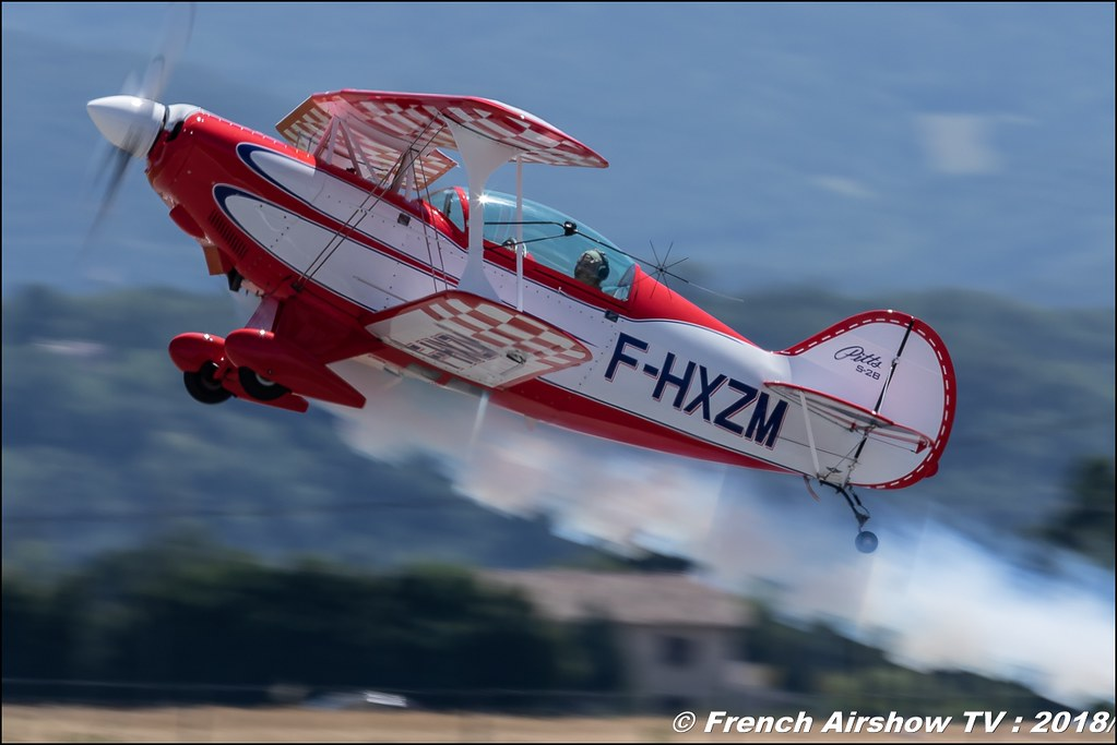 Pitts S-2B - F-HXZM Aerotorshow 2018 – Fête aérienne de Valence Chabeuil Canon Sigma France contemporary lens Meeting Aerien 2018