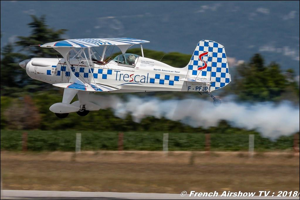 Trescal SA300-Starduster Aerotorshow 2018 – Fête aérienne de Valence Chabeuil Canon Sigma France contemporary lens Meeting Aerien 2018