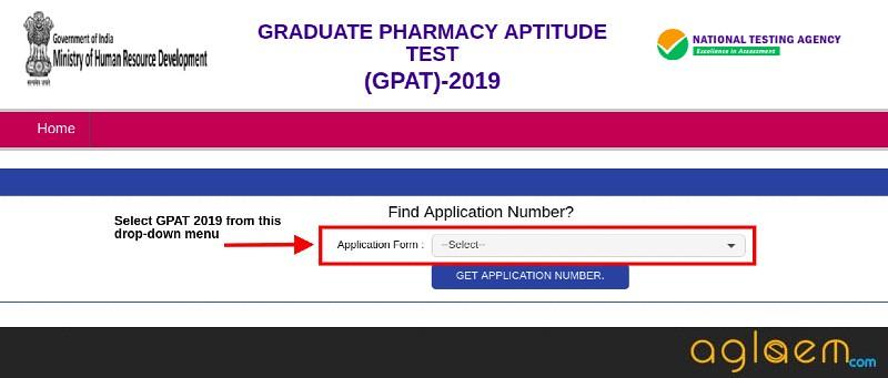 GPAT 2019 Login