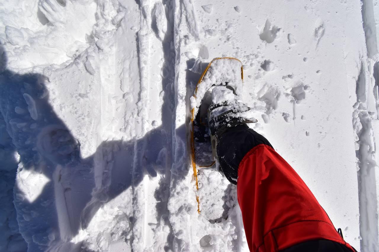 冬の平標山 スノーシュー登山