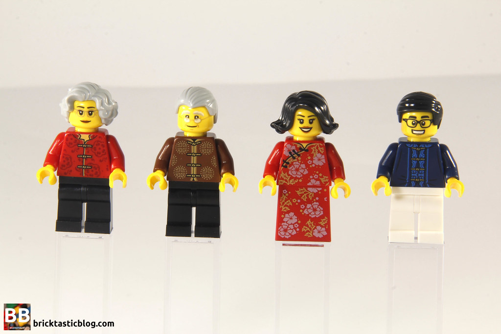 80101 Chinese New Year's Eve Dinner - Adult Minifigures