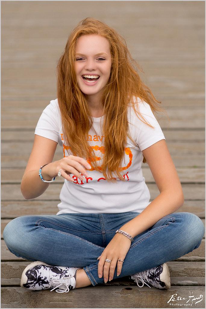 Nude Teen Redhead
