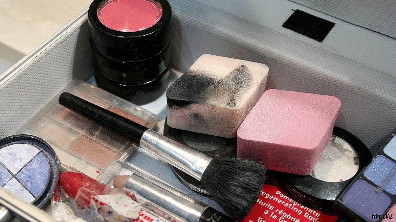 maquillaje de momia paso a paso