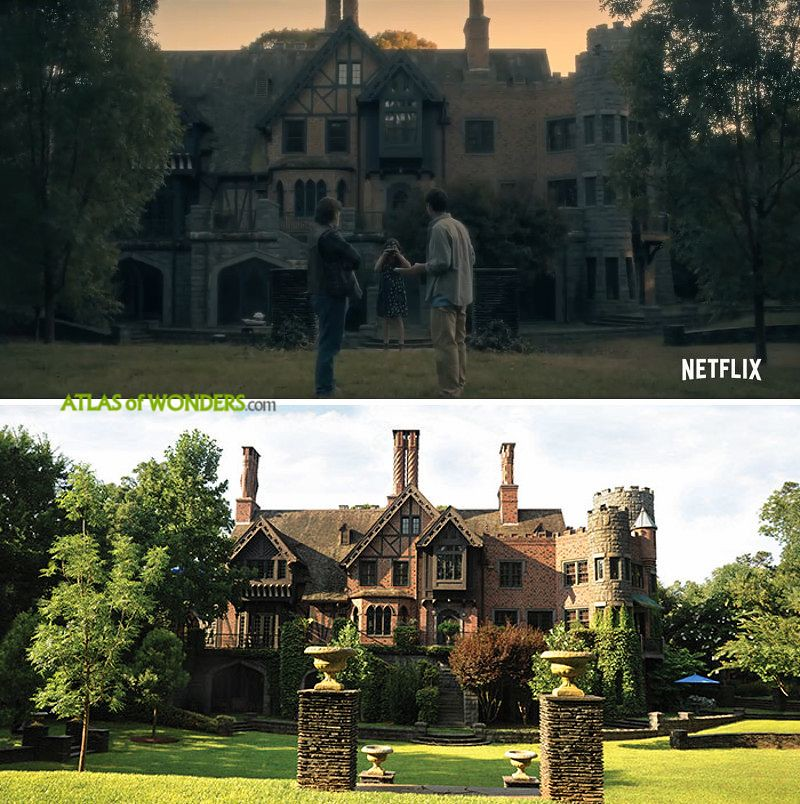 Where is The Haunting of Hill House filmed