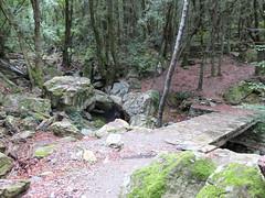 Pont sur le ruisseau de Fundali
