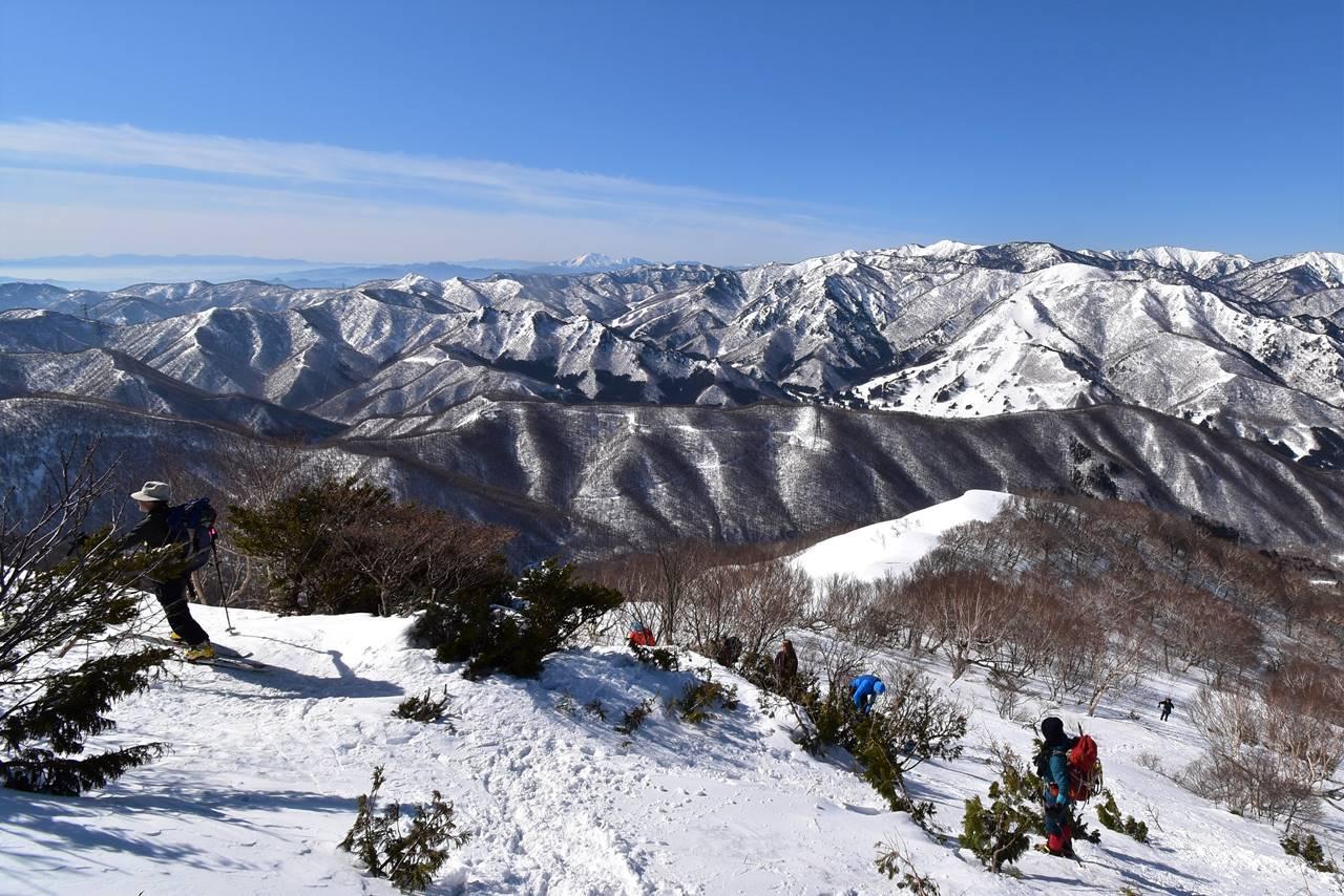 ヤカイ沢ルート展望台
