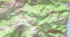 Carte Toga - Guadalone au Cap Corse