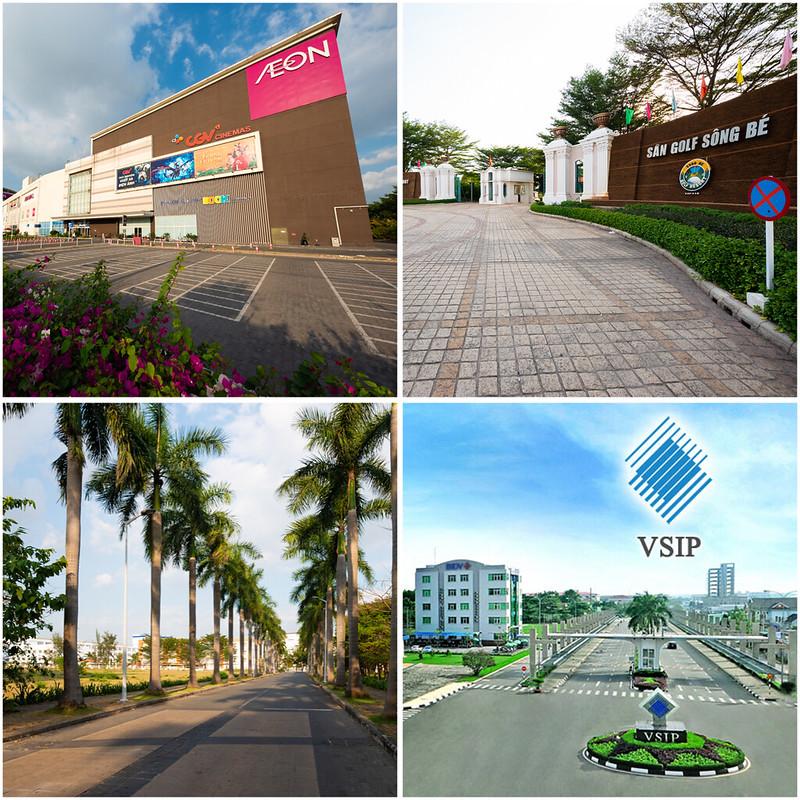 Liền kề Aeon Mall và VSIP, đối diện sân Golf Sông Bé