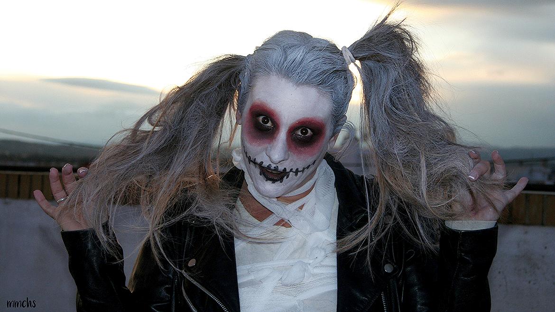 Cómo hacerse un maquillaje de momia zombie paso a paso