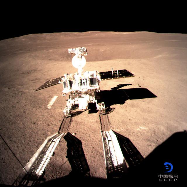 VCSE - A Chang'e-4 leszállóegység a Holdon. - APOD, Kínai Űrügynökség
