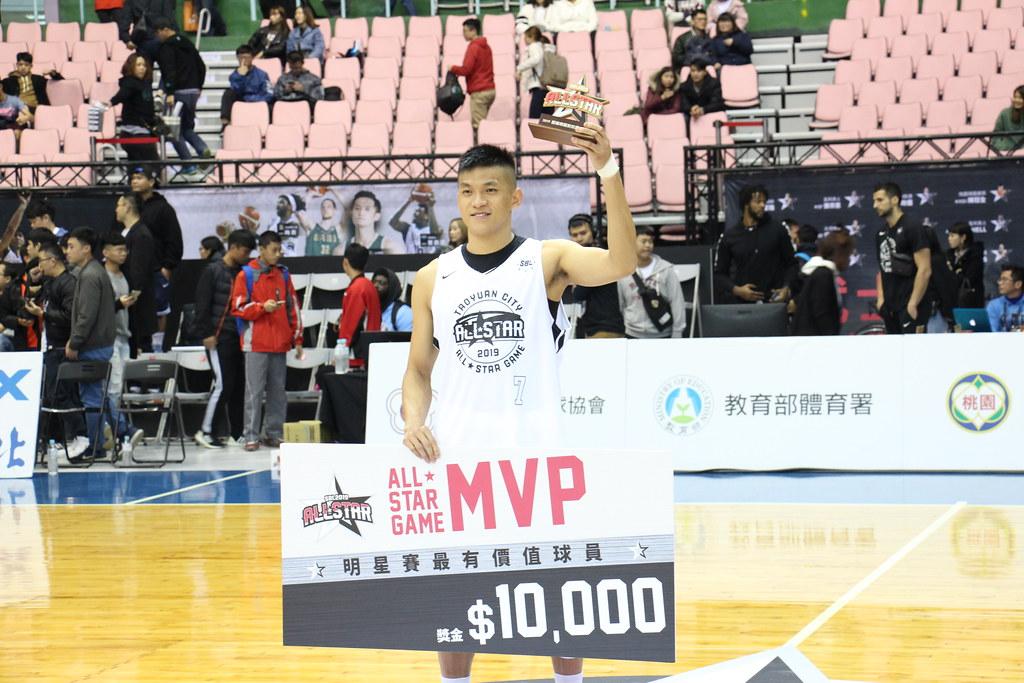 白武士于煥亞獲得明星賽MVP。(記者賴柏安攝)