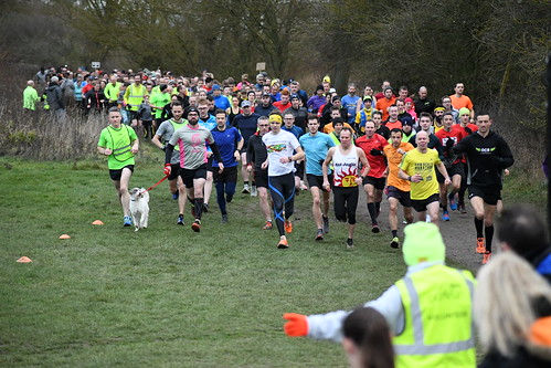 NYD 2018 Start at Great Notley parkrun