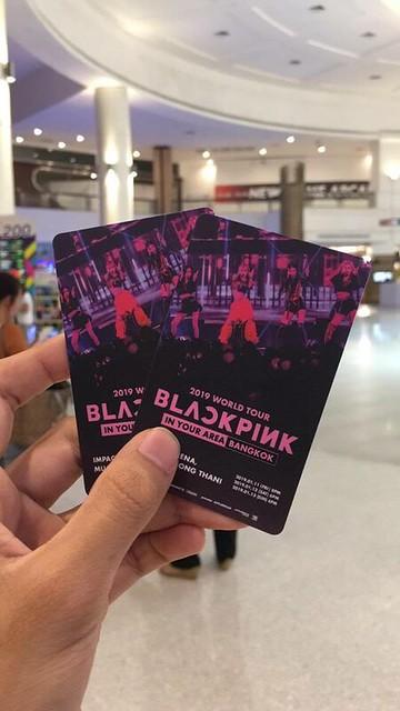บัตรคอนเสิร์ตBlackpink