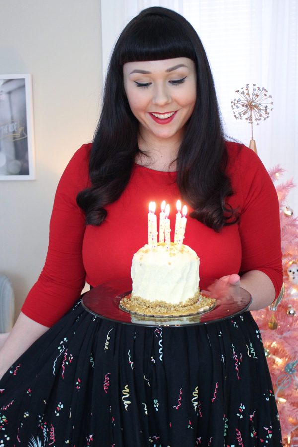 the soubrette brunette birthday blog giveaway