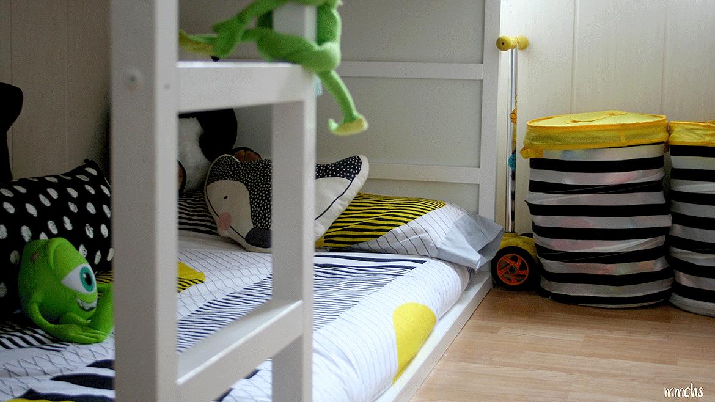 Contras y pros de que los niños duerman en litera
