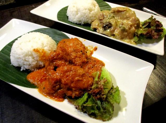 Payung butter chicken & Payung chicken