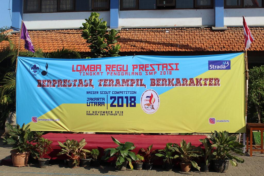 LOMBA REGU PRESTASI TINGKAT PENGGALANG SMP 2018