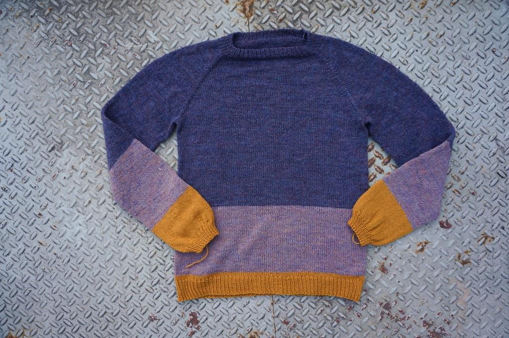 Palette Sweater #1 / No Frills Sweater