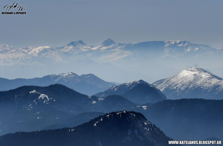 ερύμανθος βουνό θέα από βελούχι