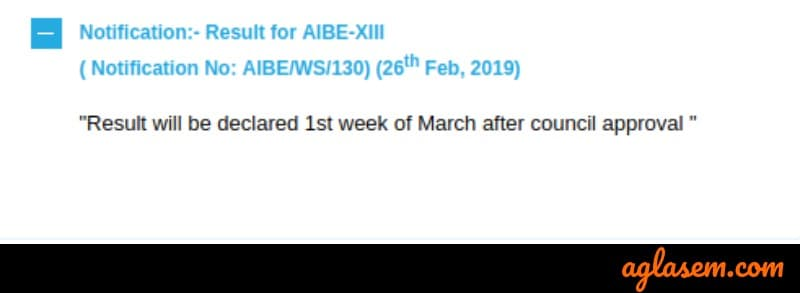 AIBE XIII (13) 2019 Result to be Declared in First Week of March 2019; Council's Approval Awaited