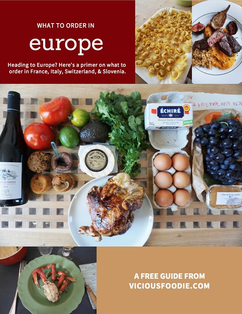What to eat in Europe