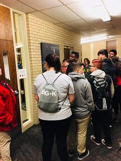 JAG*K students touring Barton County Campus
