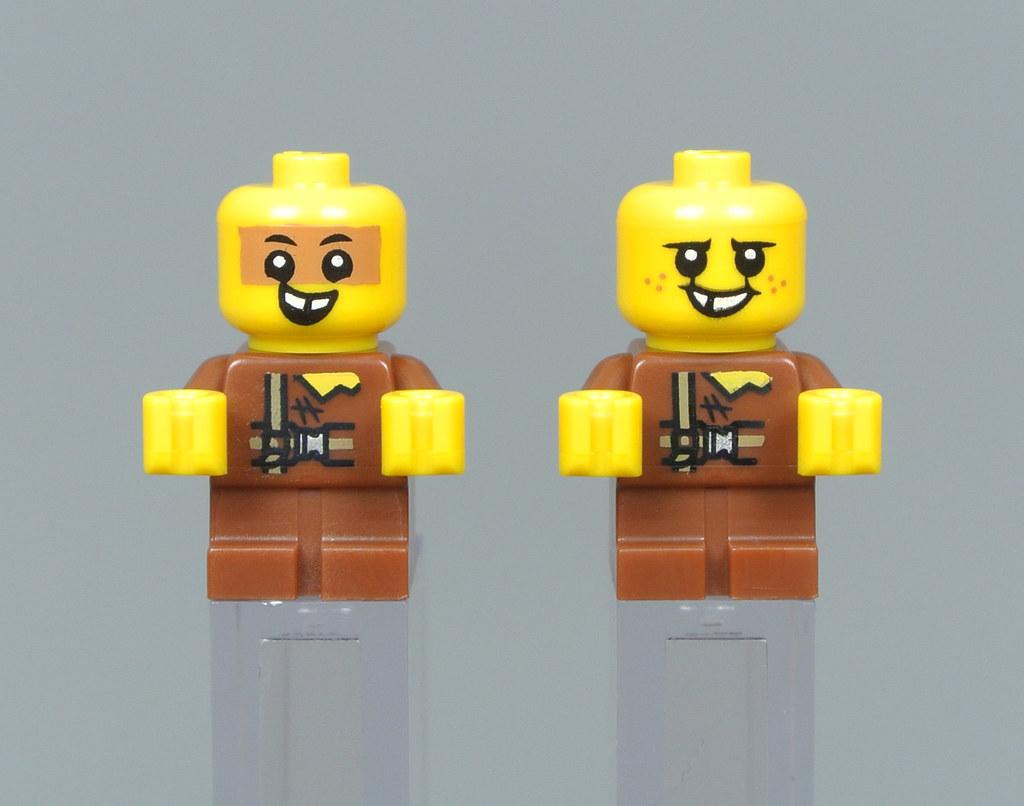 2x LEGO 3069b Piatto 1x2 Giallo chiaro brillante6061201
