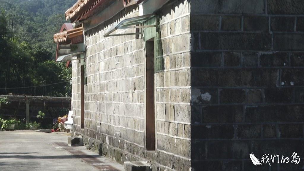 泰平里由於是翡翠水庫水源特定區,開發受限制,古樸的石頭屋留了下來。