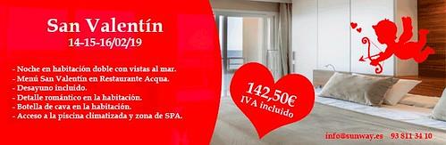 HOTEL SUNWAY - PACK ROMÁNTICO