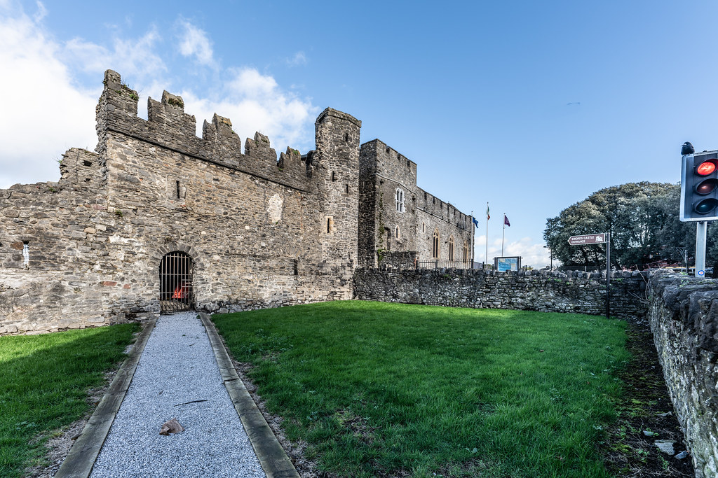 NORMAN CASTLE IN SWORDS 014