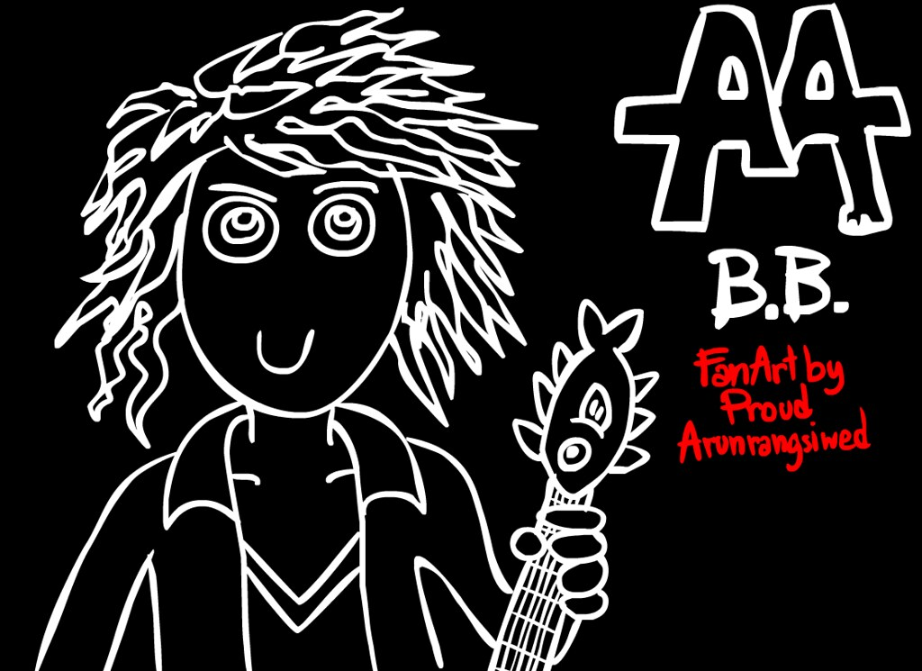 Ben Bruce Asking Alexandria Fan art
