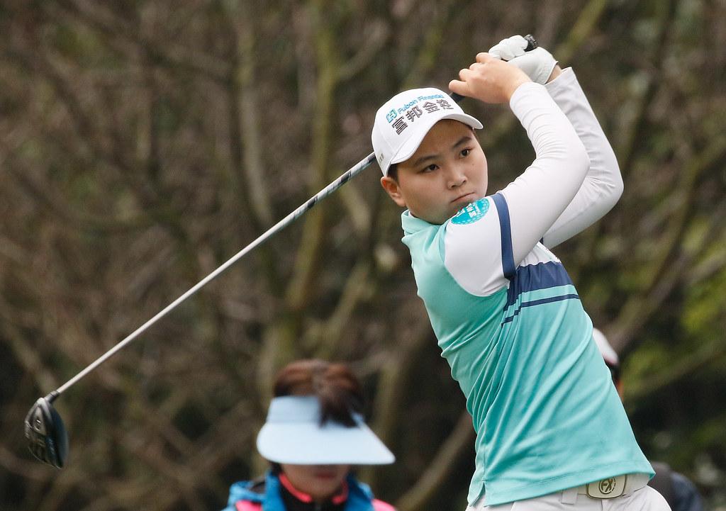 陳宇茹以2回合總桿136桿(-8)單獨領先。(大會提供)