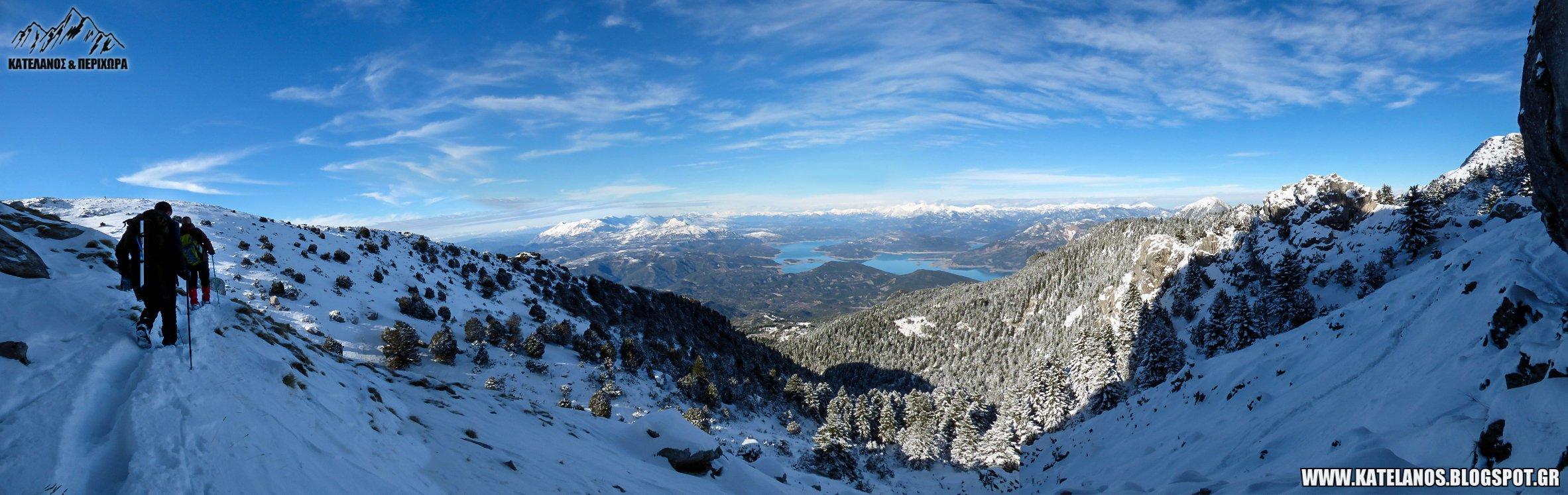 πεζοπορικες διαδρομες στο παναιτωλικο ορος χειμερινη αναβαση ανω αγιος βλασιος αιτωλοακαρνανιας