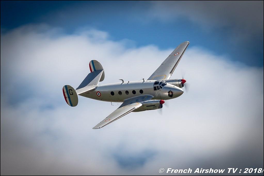 Dassault MD-312 Flamant - F-AZVG Association Ailes Anciennes de Corbas Aerotorshow 2018 – Fête aérienne de Valence Chabeuil Canon Sigma France contemporary lens Meeting Aerien 2018
