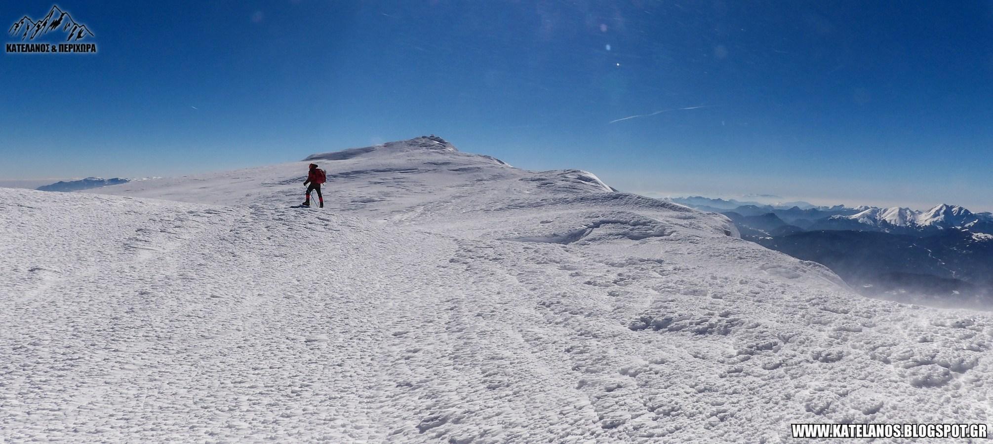 σεϊντάνι βελούχι αναβαση χειμωνας χιόνια