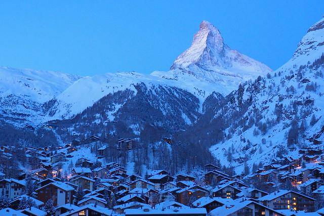 Early morning Matterhorn, Zermatt, Switzerland