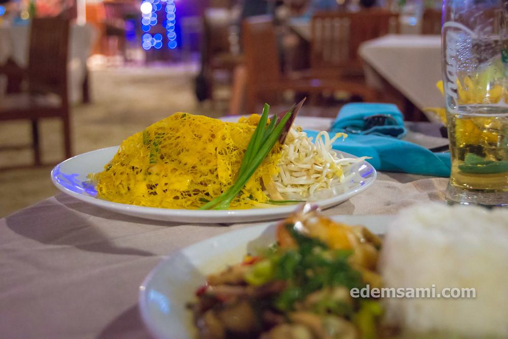 Ресторан на Ко Чанге Парадайз Резорт