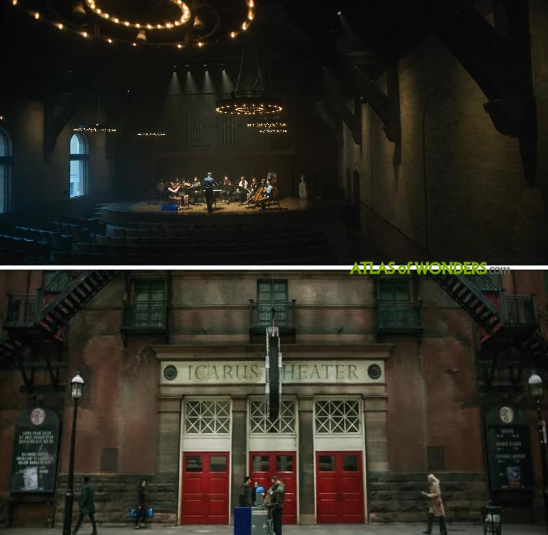The Umbrella Academy shooting location