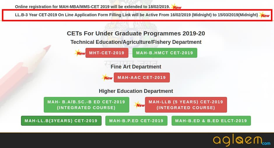 MH Law CET 2019 (3 Years) Application Form Releasing Tomorrow; Know How to Apply!