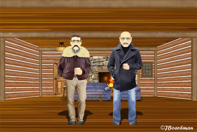 Inside Ambrose's Cabin