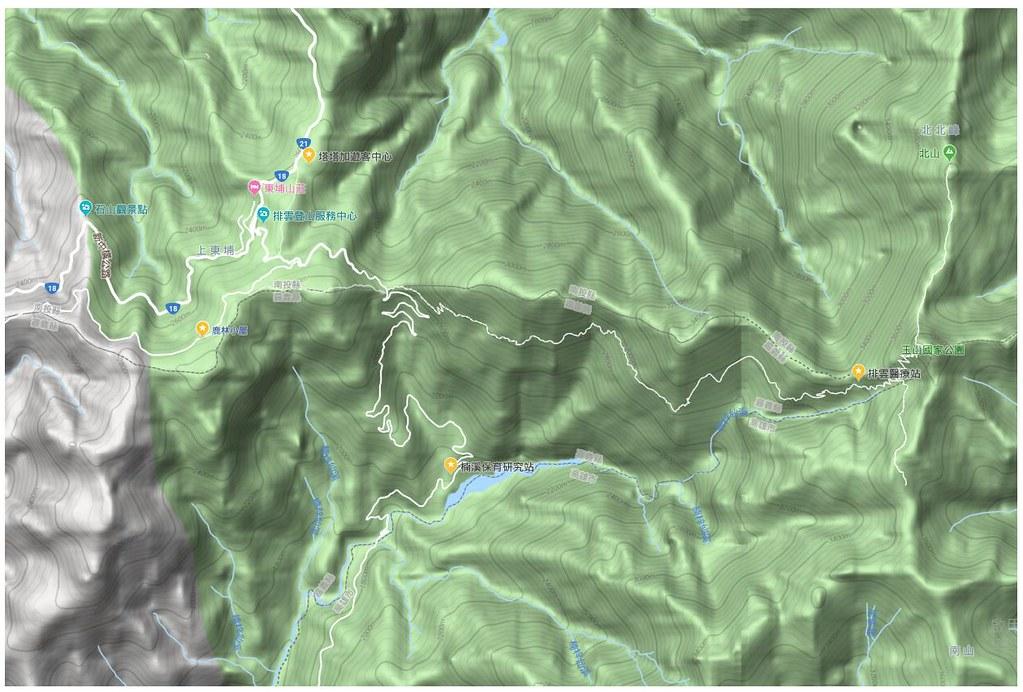 2月份黑熊接連出現在排雲醫療站、塔塔加遊憩區鹿林小屋及楠溪保育研究站。(圖片來源:玉管處提供)