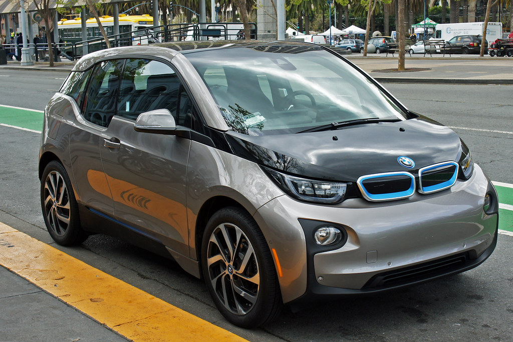BMW i3是BMW首款零排放汽車。圖片來源:Mariordo (Mario Roberto Duran Ortiz)CC BY-SA 4.0