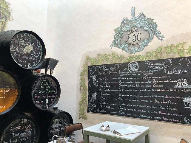 Taberna número 10 de Córdoba