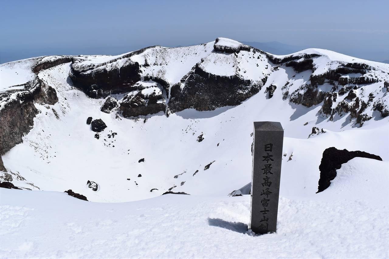 GWの富士山 雪山登山