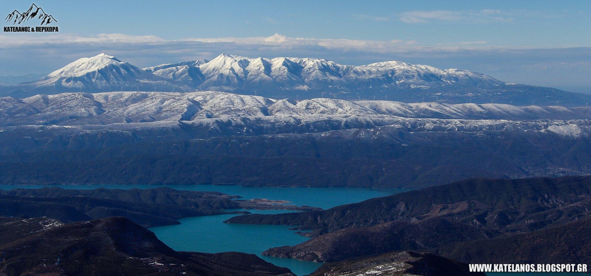τεχνητη λιμνη καστρακίου αιτωλοακαρνανια βουνα ακαρνανικα ορη