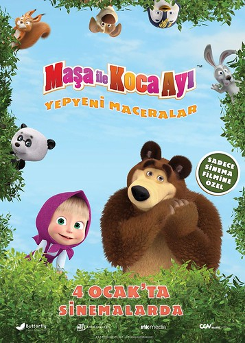 Maşa ile Koca Ayı: Yepyeni Maceralar - Masha i Medved 3 (2019)