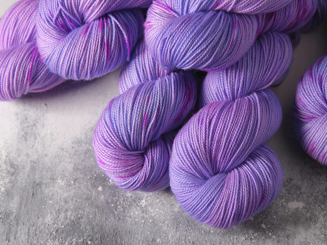 Favourite Sock – pure merino 4 ply/fingering hand dyed superwash wool yarn 100g – 'Let Me Be Your Fantasy'